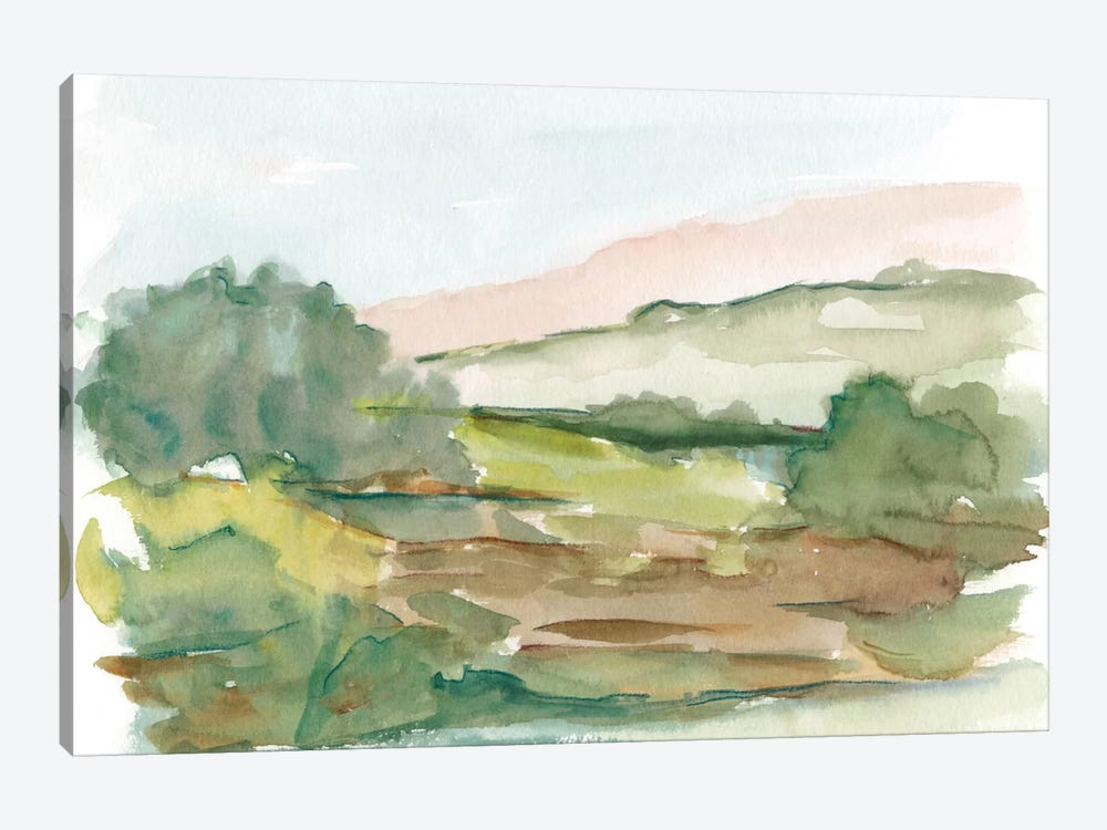 Impressionist Watercolor IV by Ethan Harper 1-piece Canvas Print