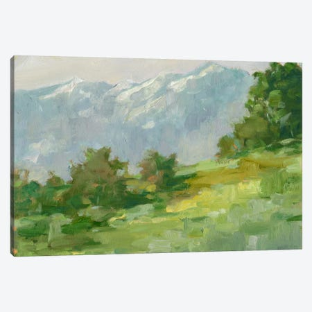 Mountain Backdrop I Canvas Print #EHA245} by Ethan Harper Art Print