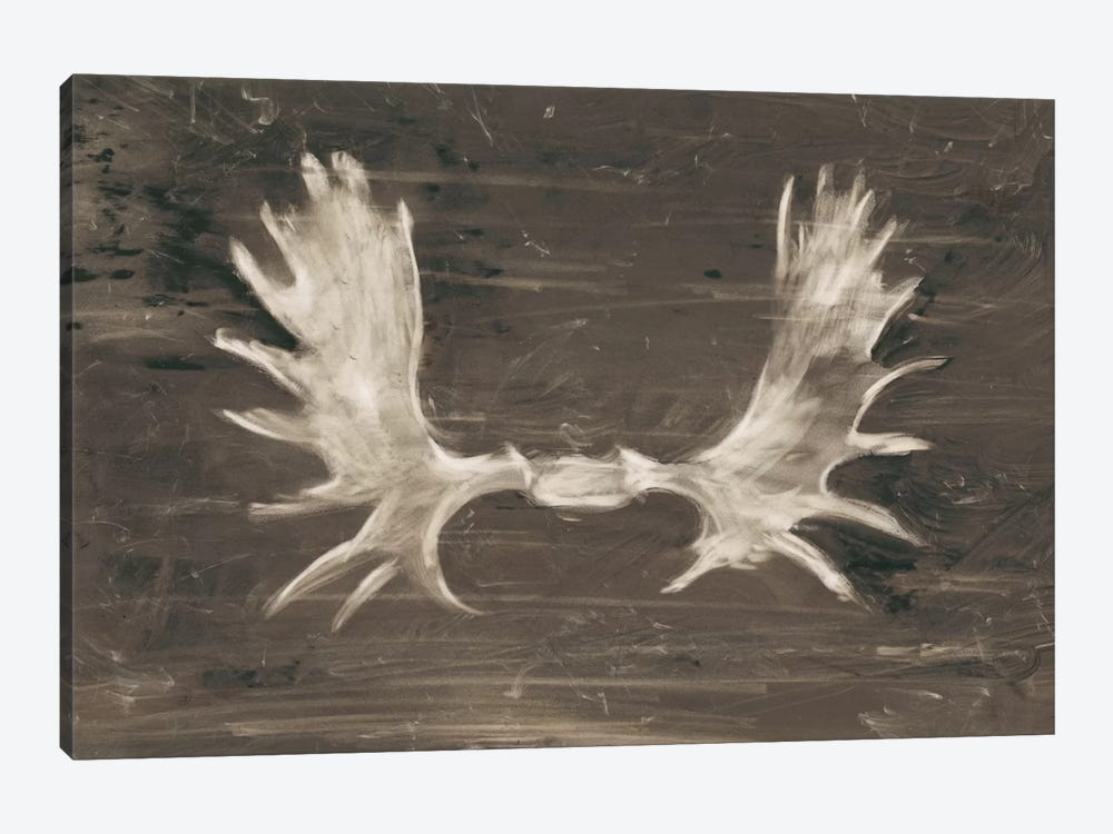 Rustic Moose Mount I by Ethan Harper 1-piece Canvas Print