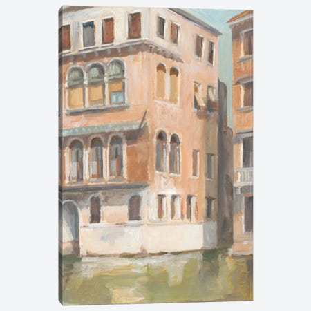 Venetian Plein Air I Canvas Print #EHA253} by Ethan Harper Canvas Art Print
