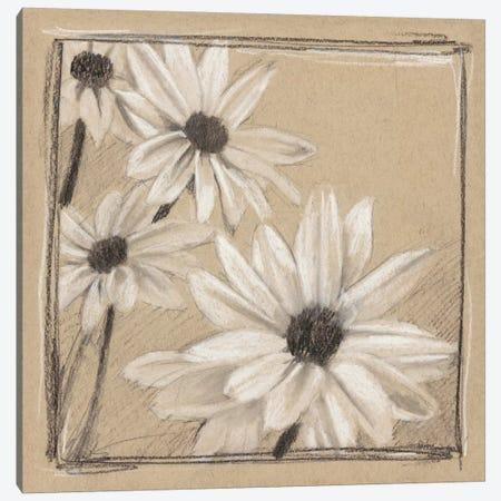 White Floral Study II Canvas Print #EHA258} by Ethan Harper Canvas Art Print