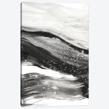 Black Waves I Canvas Print #EHA264} by Ethan Harper Art Print