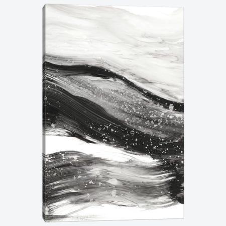 Black Waves I Canvas Print #EHA264} by Ethan Harper Art Print