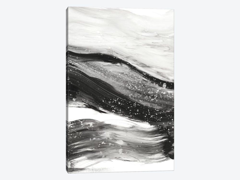 Black Waves I by Ethan Harper 1-piece Canvas Art