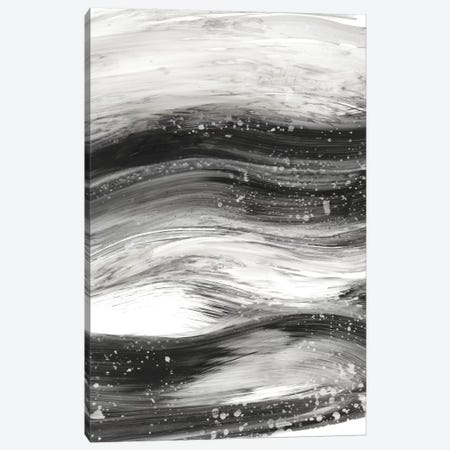 Black Waves II Canvas Print #EHA265} by Ethan Harper Art Print