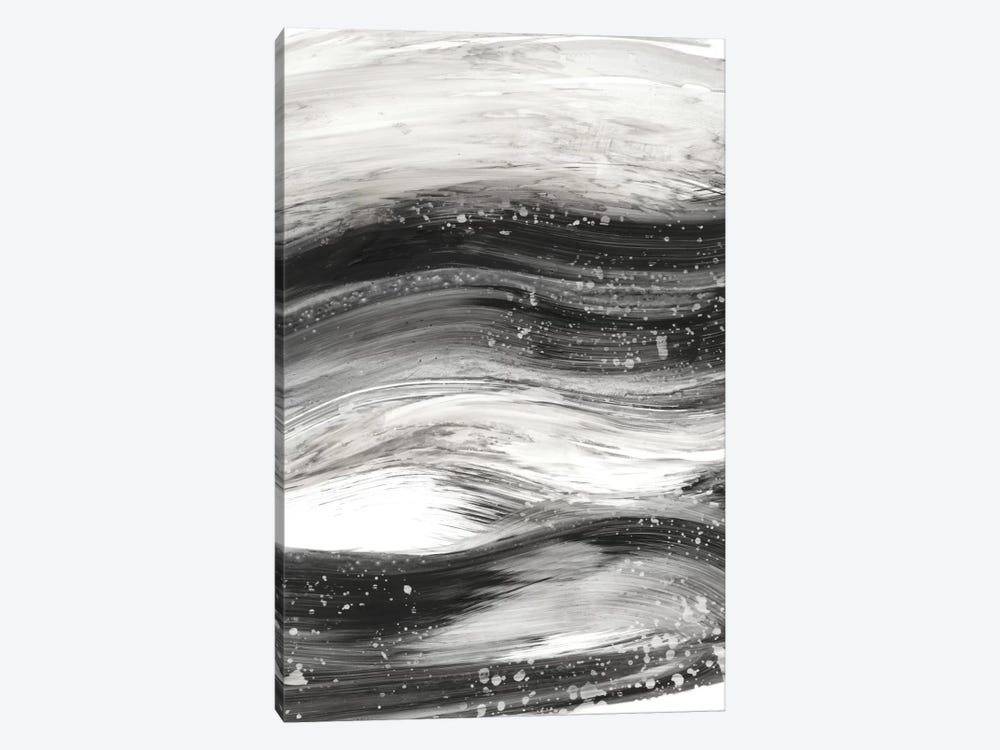 Black Waves II by Ethan Harper 1-piece Canvas Art Print