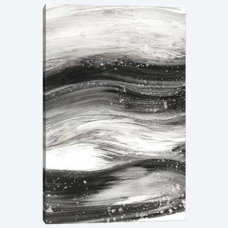 Black Waves II Canvas Print #EHA265} by Ethan Harper Art Print