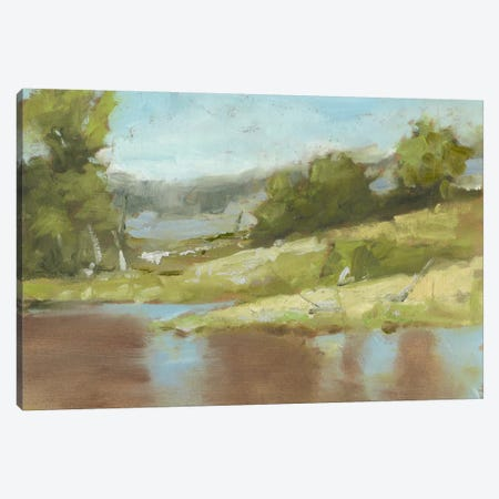 Muddy River I Canvas Print #EHA273} by Ethan Harper Art Print
