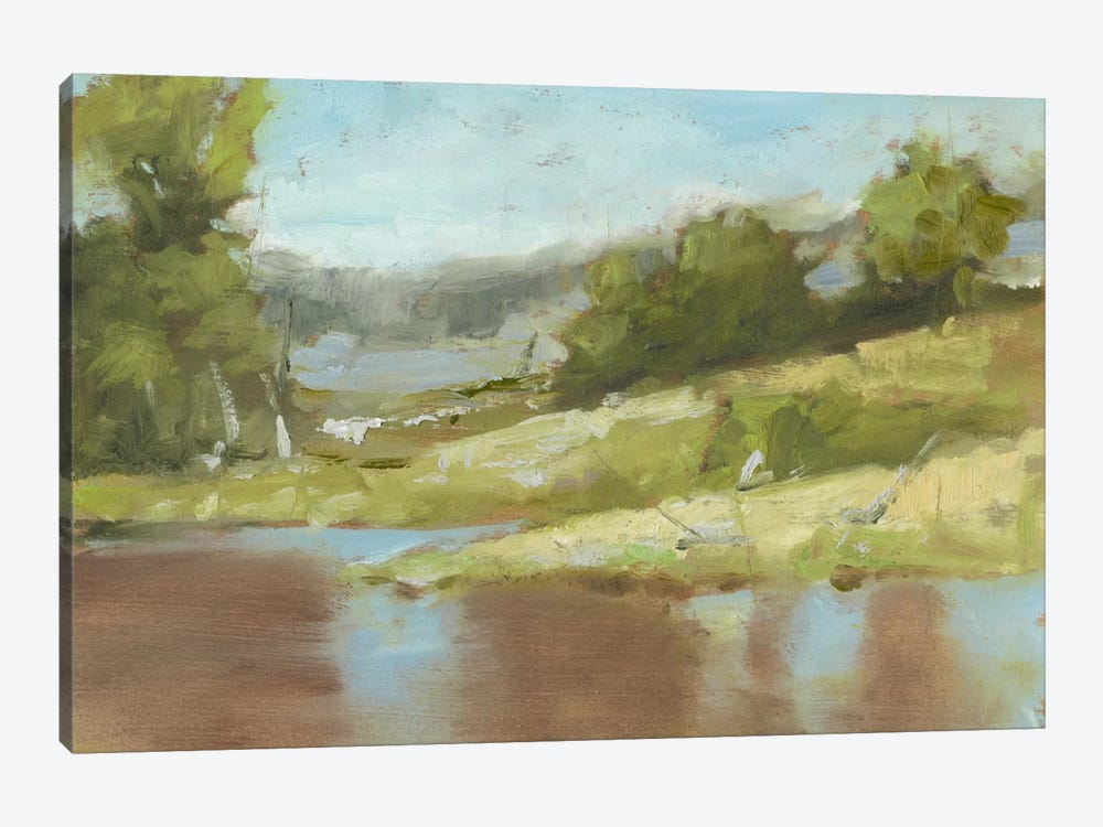 Muddy River I by Ethan Harper 1-piece Canvas Wall Art