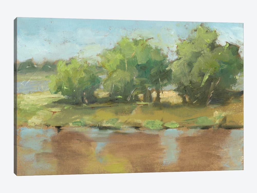 Muddy River II by Ethan Harper 1-piece Canvas Art Print