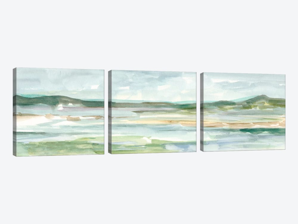 Panoramic Seascape II by Ethan Harper 3-piece Art Print
