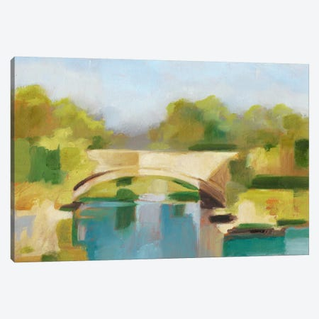 Park Bridge I Canvas Print #EHA277} by Ethan Harper Canvas Art