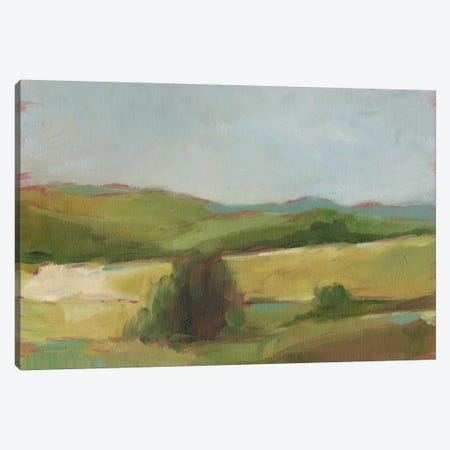 Rolling Pasture II Canvas Print #EHA280} by Ethan Harper Canvas Artwork
