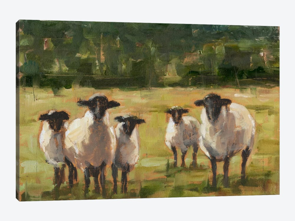 Sheep Family I by Ethan Harper 1-piece Canvas Artwork