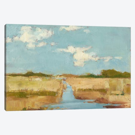 Summer Wetland I Canvas Print #EHA284} by Ethan Harper Canvas Art Print