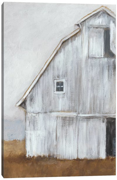 Abandoned Barn II Canvas Art Print