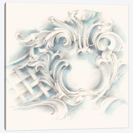 Acanthus Ornament I Canvas Print #EHA298} by Ethan Harper Canvas Print