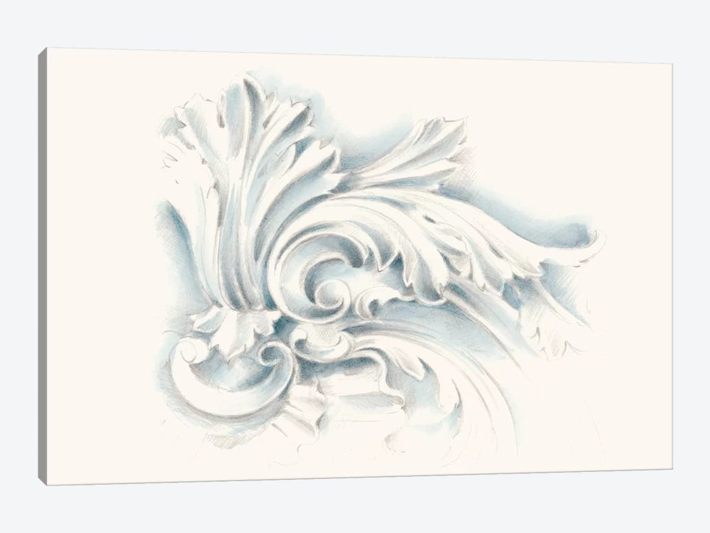Acanthus Ornament II by Ethan Harper 1-piece Canvas Art