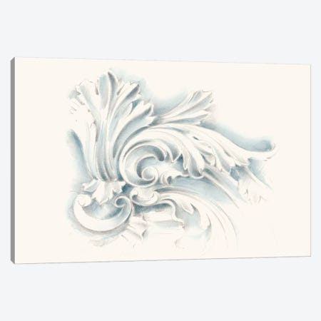 Acanthus Ornament II 3-Piece Canvas #EHA299} by Ethan Harper Art Print