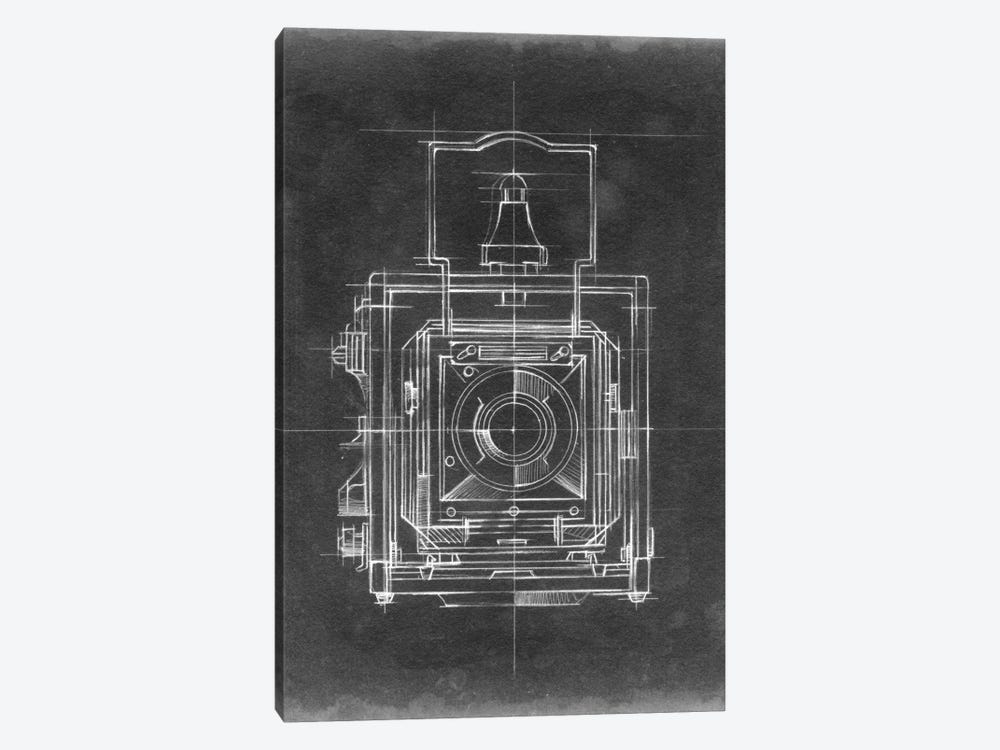 Camera Blueprints I by Ethan Harper 1-piece Art Print