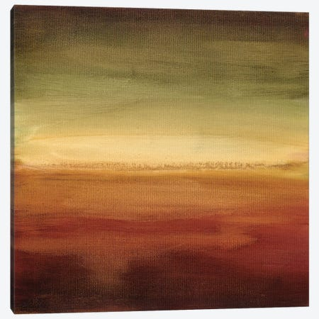 Abstract Horizon II 3-Piece Canvas #EHA2} by Ethan Harper Canvas Art