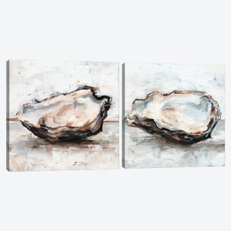 Oyster Study Diptych Canvas Print Set #EHA2HSET010} by Ethan Harper Art Print