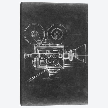 Camera Blueprints II Canvas Print #EHA30} by Ethan Harper Canvas Art
