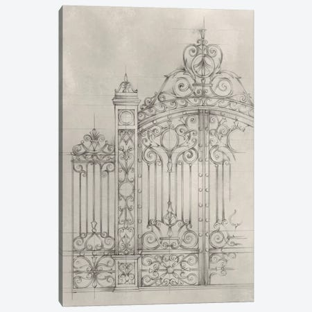 Iron Gate Design I Canvas Print #EHA310} by Ethan Harper Canvas Art