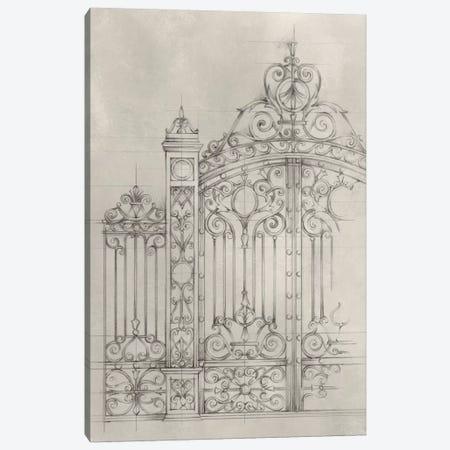 Iron Gate Design I Canvas Print #EHA310} by Ethan Harper Canvas Art