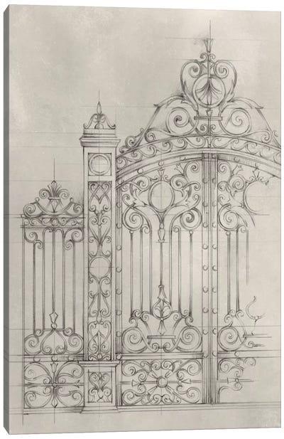 Iron Gate Design I Canvas Art Print