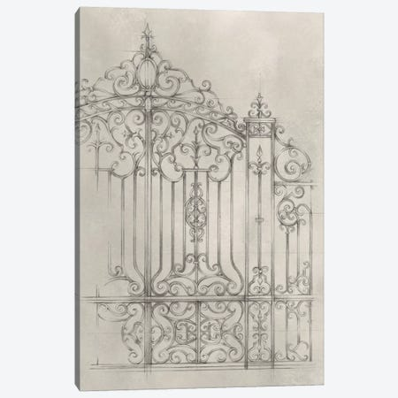 Iron Gate Design II Canvas Print #EHA311} by Ethan Harper Canvas Artwork