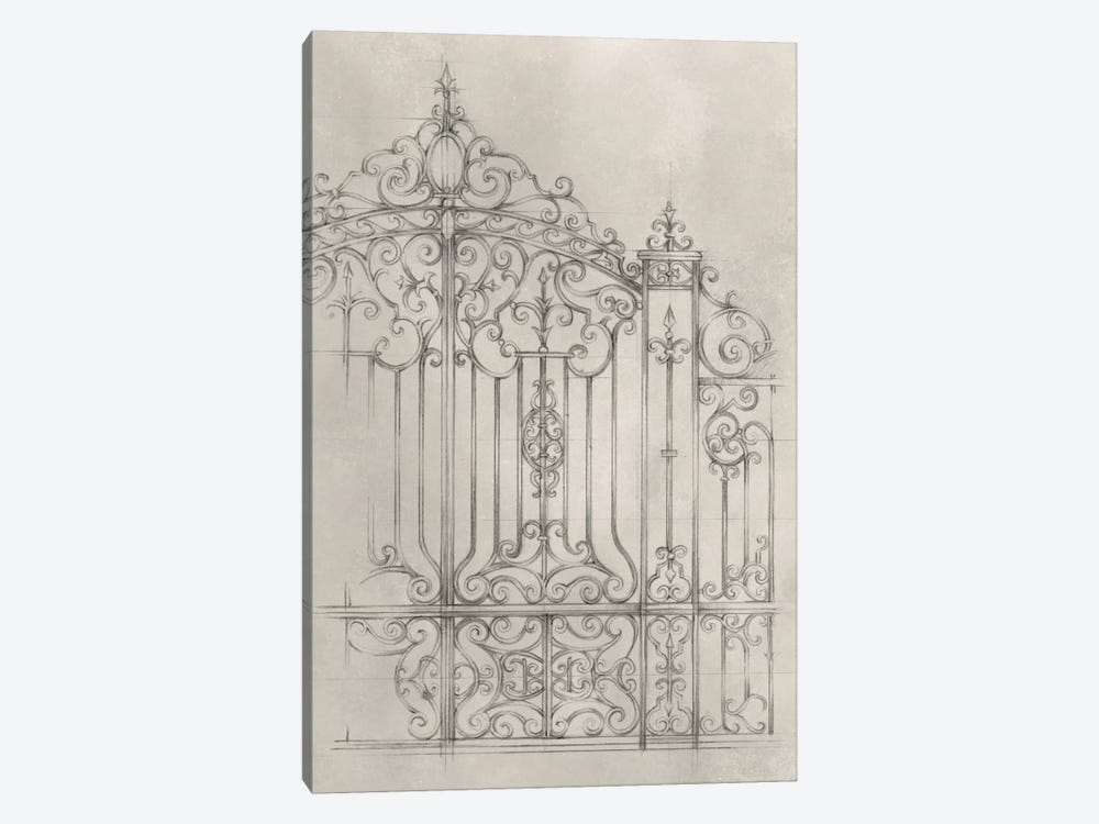Iron Gate Design II by Ethan Harper 1-piece Art Print