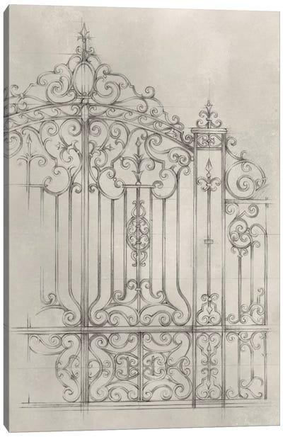 Iron Gate Design II Canvas Art Print