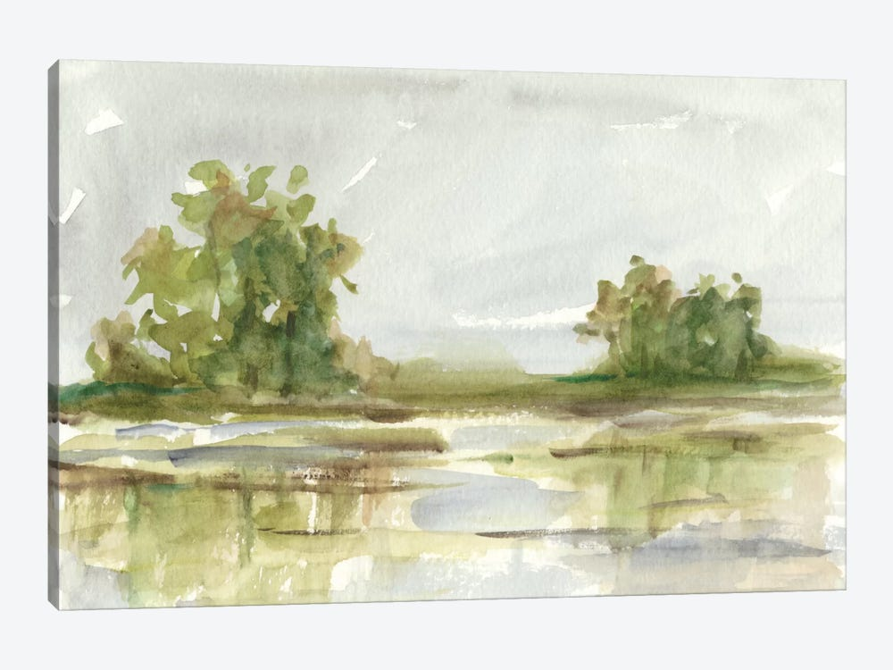 Muted Watercolor I by Ethan Harper 1-piece Canvas Artwork