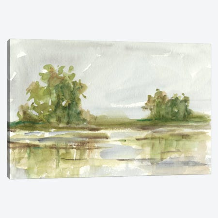 Muted Watercolor I Canvas Print #EHA312} by Ethan Harper Canvas Wall Art