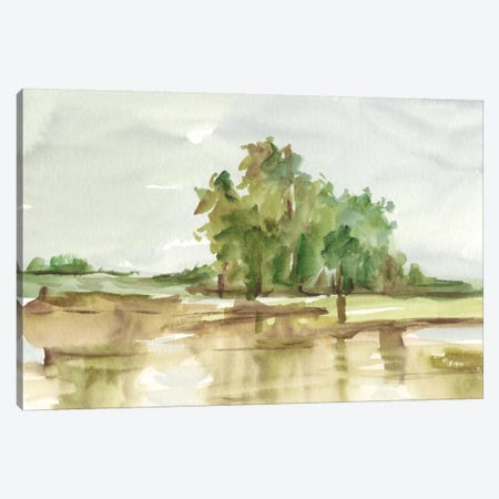 Muted Watercolor II Canvas Print #EHA313} by Ethan Harper Canvas Artwork