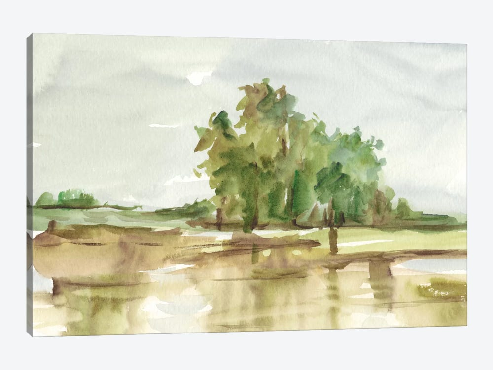 Muted Watercolor II by Ethan Harper 1-piece Art Print