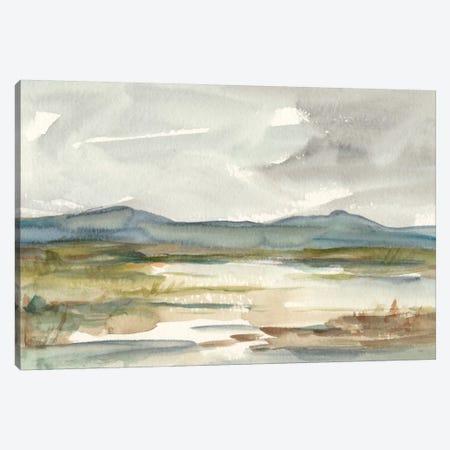 Overcast Wetland I Canvas Print #EHA314} by Ethan Harper Canvas Art Print