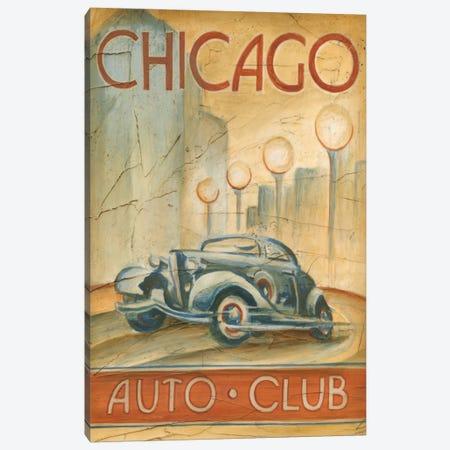 Chicago Auto Club Canvas Print #EHA32} by Ethan Harper Canvas Art
