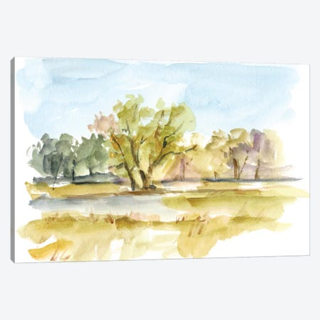 Vibrant Watercolor I Canvas Print #EHA330} by Ethan Harper Canvas Art