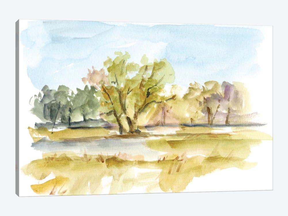 Vibrant Watercolor I by Ethan Harper 1-piece Canvas Artwork