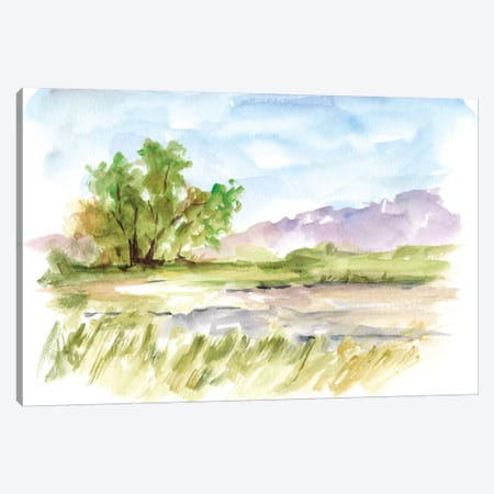Vibrant Watercolor II Canvas Print #EHA331} by Ethan Harper Canvas Wall Art