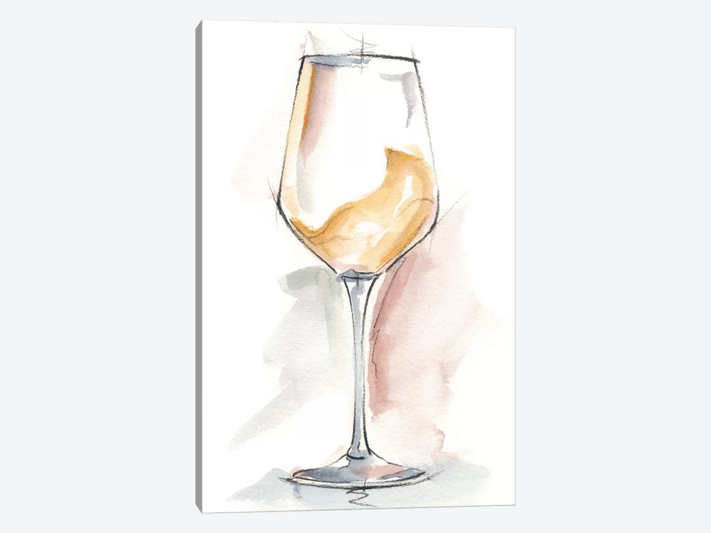 Wine Glass Study I by Ethan Harper 1-piece Canvas Art