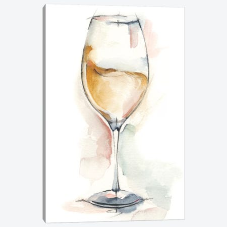 Wine Glass Study II Canvas Print #EHA337} by Ethan Harper Canvas Print