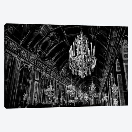 Ballroom Sketch Canvas Print #EHA340} by Ethan Harper Canvas Print