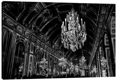 Ballroom Sketch Canvas Art Print