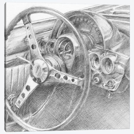 Behind The Wheel II Canvas Print #EHA342} by Ethan Harper Canvas Print