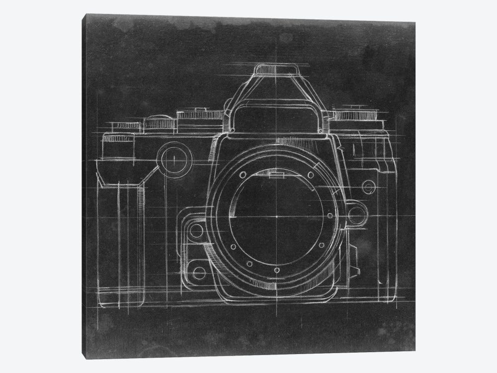 Camera Blueprints IV by Ethan Harper 1-piece Canvas Wall Art