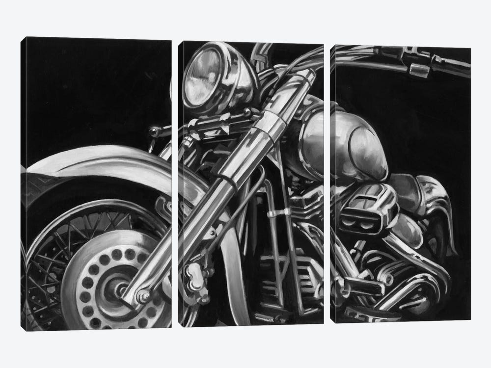 Classic Hogs II by Ethan Harper 3-piece Art Print