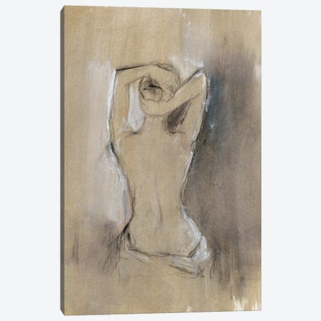 Contemporary Draped Figure I Canvas Print #EHA352} by Ethan Harper Canvas Artwork